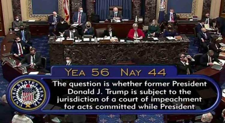 Avanza juicio contra Trump