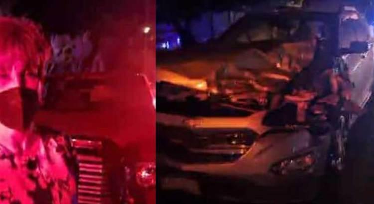 Sufrió accidente carretero Adela Gonzalez Moreno