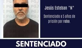 """Cinco años de cárcel le dieron al """"Chino"""""""