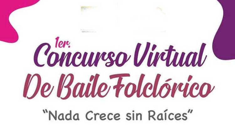 Declaran desierto el 1er. Concurso Virtual de Baile Folclórico
