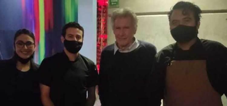 En bicicleta llegará Harrison Ford a Los Cabos