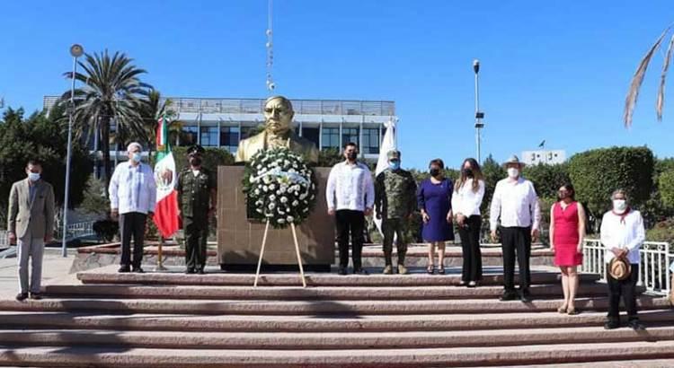 En BCS está vigente legado de Benito Juárez