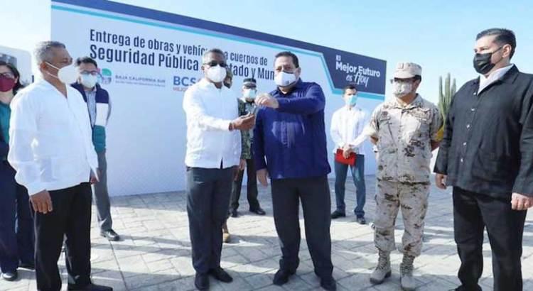 Entrega Gobernador nuevas instalaciones a la Secretaría de Seguridad Pública