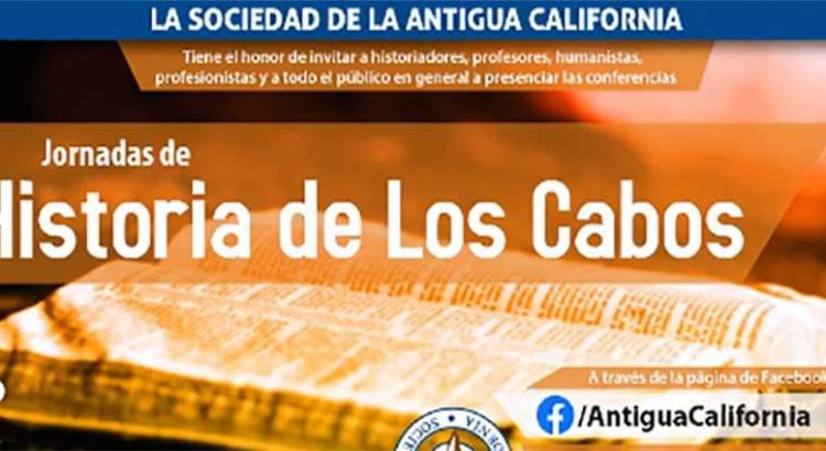 """Invitan a la """"Jornada de historia de Los Cabos"""""""