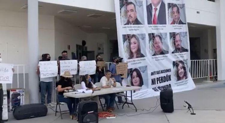 "Se manifestaron contra ""Punta Norte"""