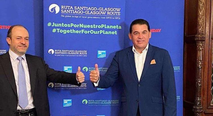 Diserta Rubén Muñoz sobre el cuidado de recursos naturales en foro internacional
