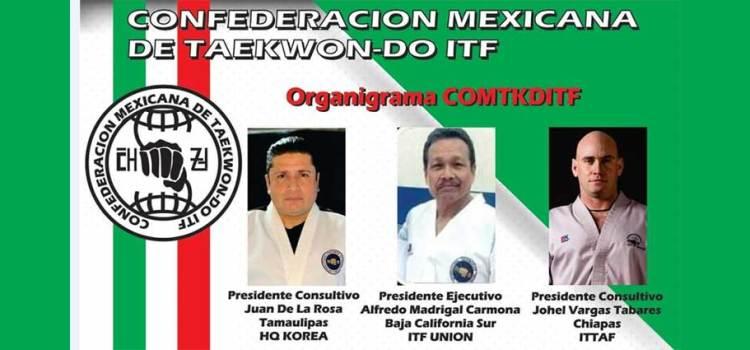 Entrenador de BCS a la Confederación Mexicana de TKD ITF