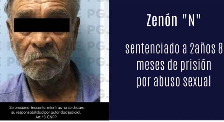 Dan 2 años 8 meses de cárcel a abusador sexual