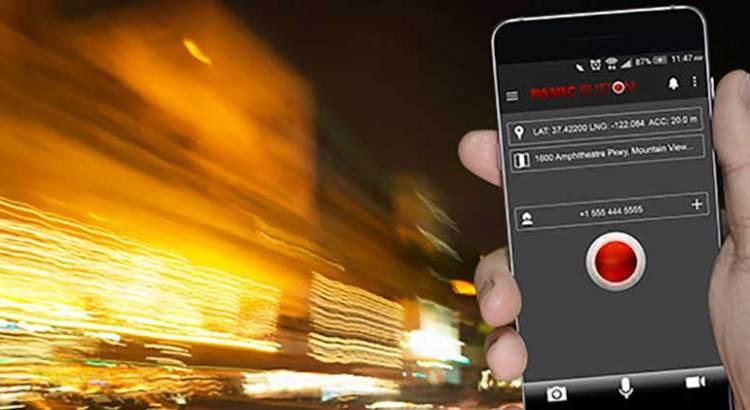 """Instalan app """"botón de emergencia"""""""