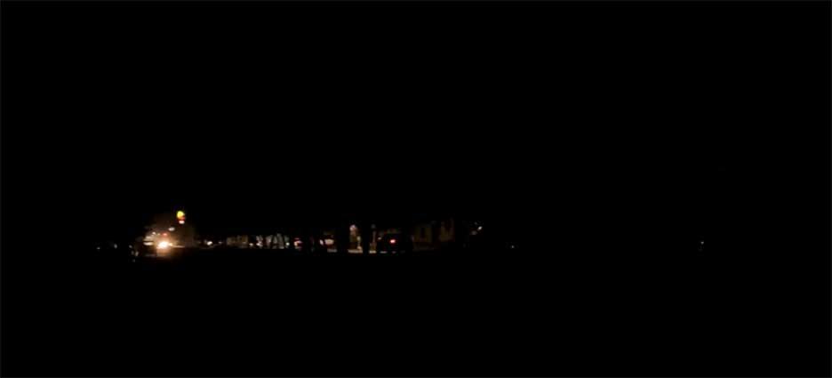 Se quedó La Paz a oscuras
