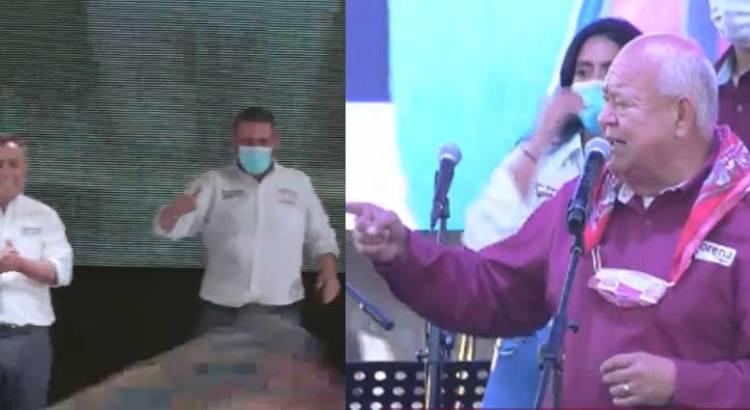 Cierran campaña Víctor Castro y Francisco Pelayo