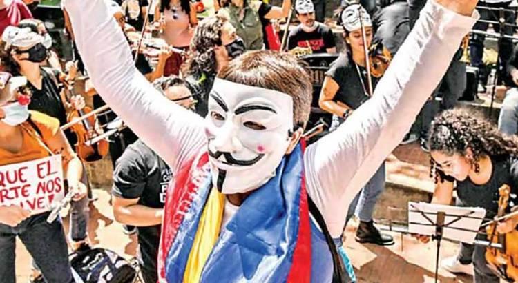 Responden a marchas en toda Colombia