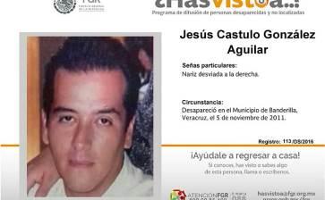 ¿Has visto a Jesús Cástulo González Aguilar y a Rafael Hernández Hernández?