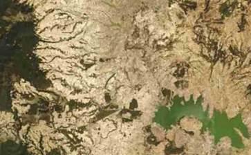 Alerta la NASA sobre la grave sequía que enfrenta México