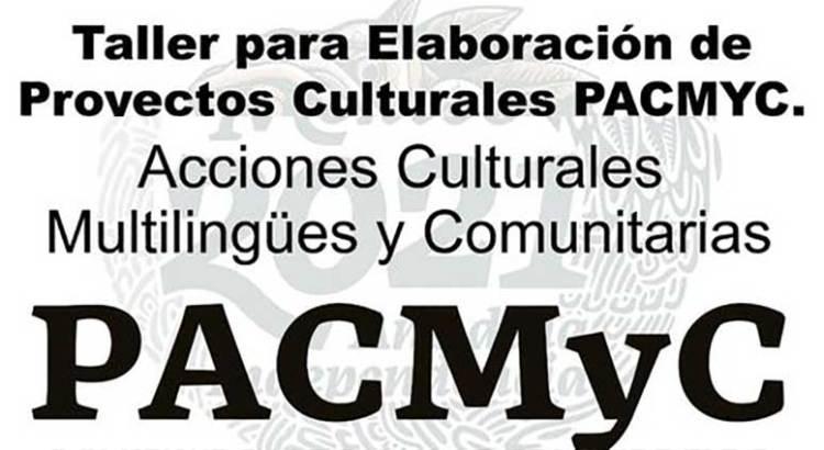 Ofrecen taller para elaborar proyectos PACMyC
