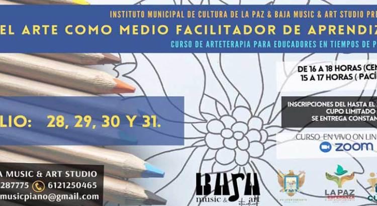 Invitan a curso de arteterapia