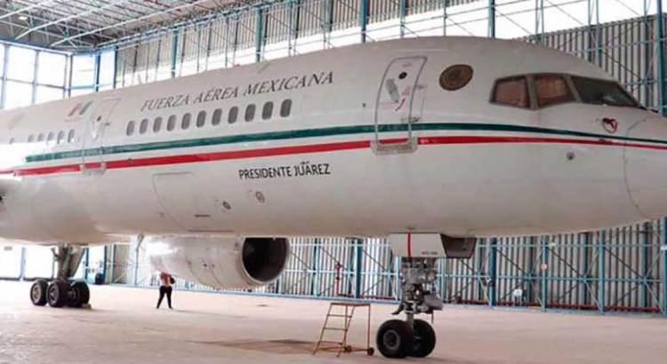 Vendieron el avión presidencial