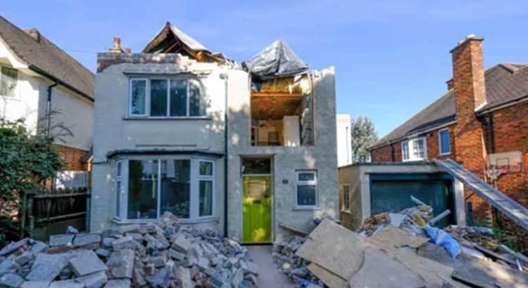 Destruyó albañil la casa que había remodelado
