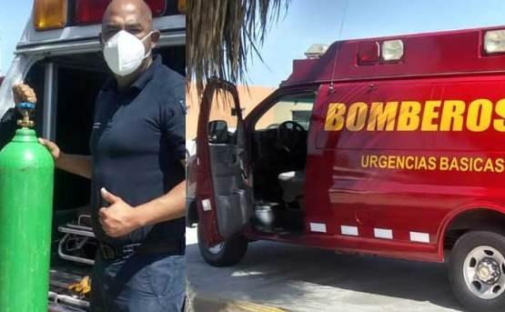 Queda de manifiesto la hermandad entre bomberos de La Paz y CSL