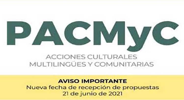 Amplían fecha de cierre del PACMyC