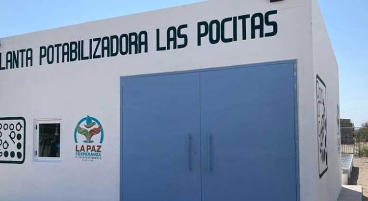 Entrega OOMSAPAS Planta Potabilizadora en Las Pocitas