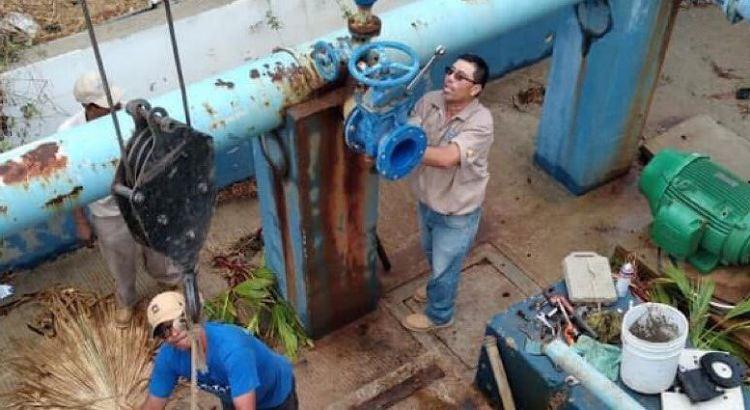 Ya tendrán agua en Palmas I y II, Arcos del Sol y Palmas Homex