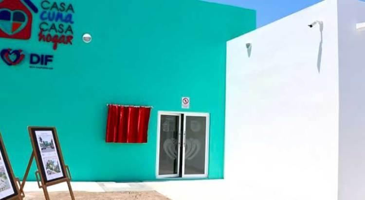 Entregan nueva casa cuna del estado en La Paz