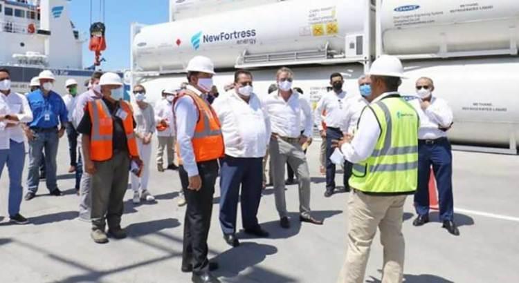 Inicia operaciones planta de gas natural en La Paz