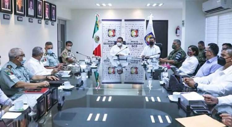 Definen operativo de seguridad durante jornada electoral en BCS