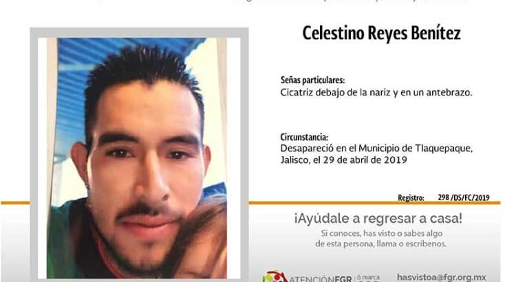 ¿Has visto a Celestino Reyes Benítez?