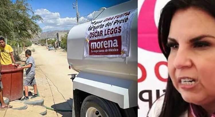 Manda Oscar Leggs pipas de agua a ValParaíso y La Ballena