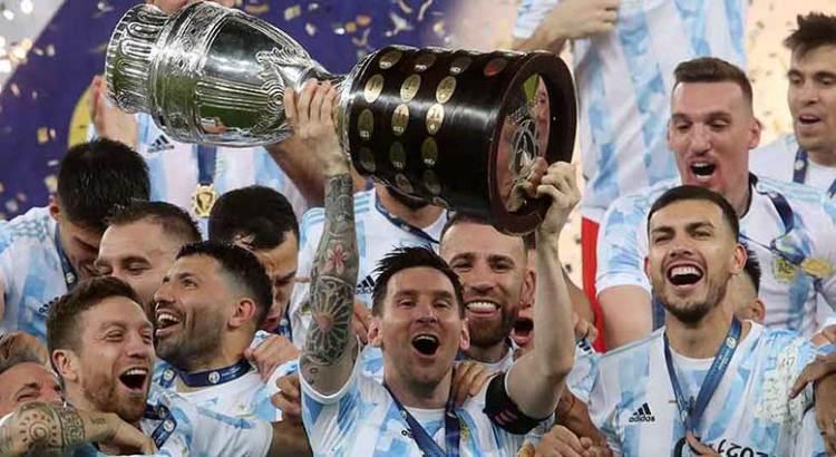 Conquistan Argentina y Lionel Messi la Copa América