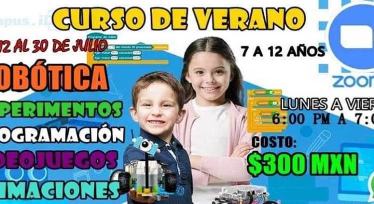 Invitan a taller de robótica para niños