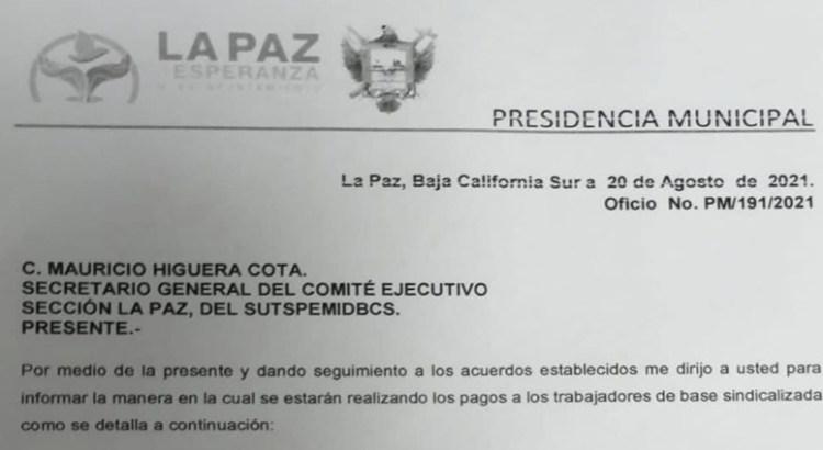 Ahora si pagará promete el alcalde Rubén Muñoz