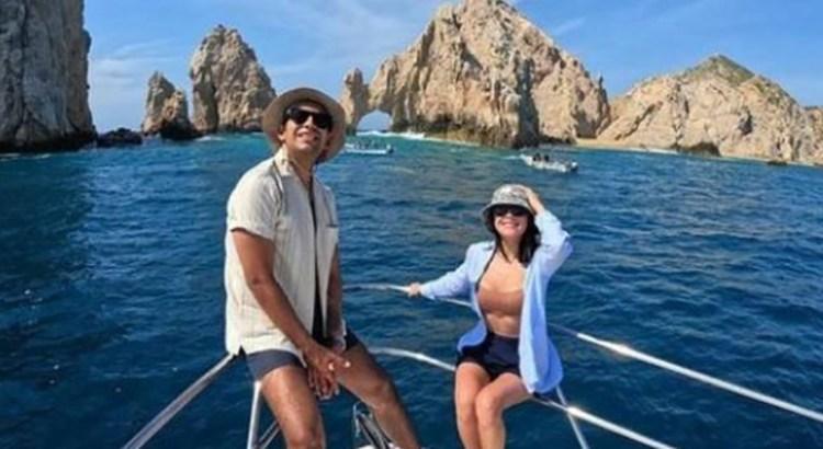 "Pasó el Capi Pérez un ""fin de semana del amor"" en Los Cabos"