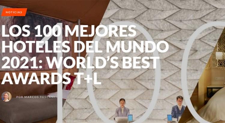 En  Los Cabos tres de los cien mejores hoteles del mundo