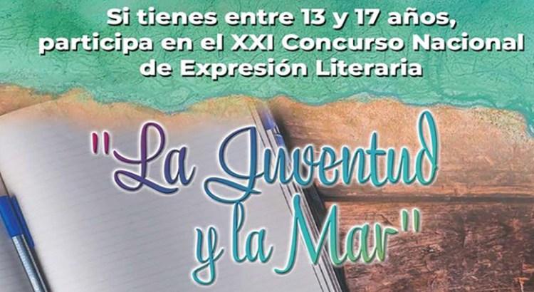 Convocan al concurso literario «La Juventud y la Mar»