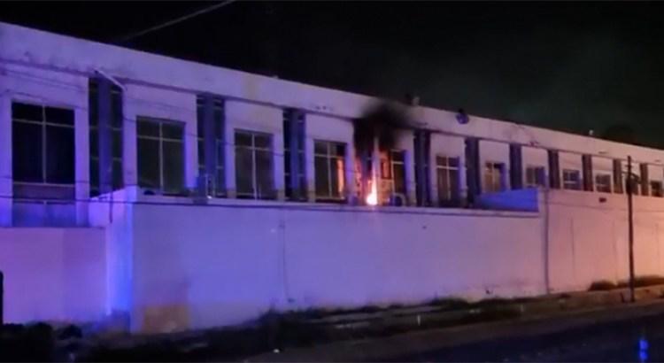 Se incendiaron oficinas de la Policía Ministerial