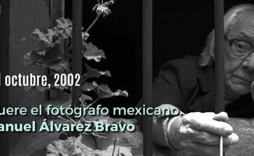 Recordando a Manuel Álvarez Bravo