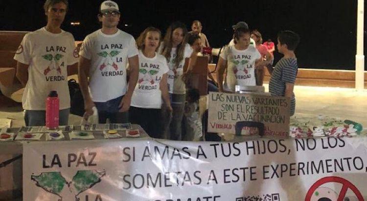 Surgen grupos antivacuna en La Paz