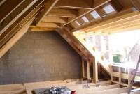 Garage loft conversion project   Peniston Construction ...