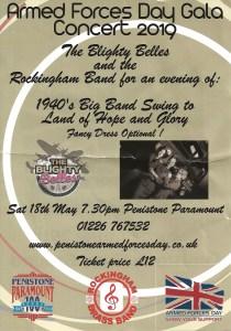 Armed Forces Day Gala Concert 2019 @ Penistone Paramount | Penistone | England | United Kingdom