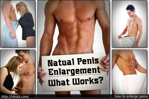 Natural Penis Enlargement