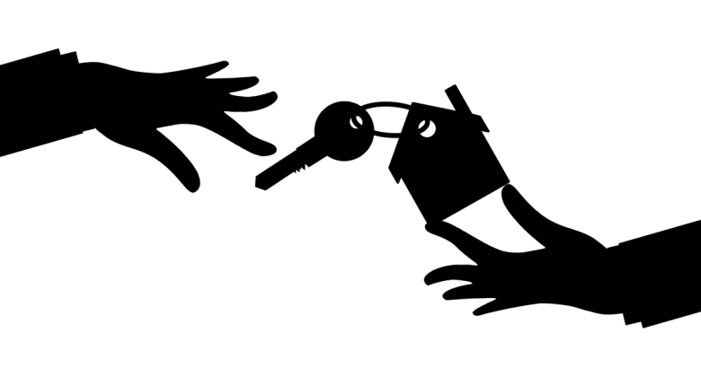 Real Estate House Silhouette Keys  - mohamed_hassan / Pixabay