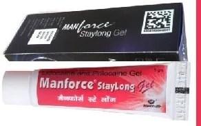 Manforce Staylong Gel