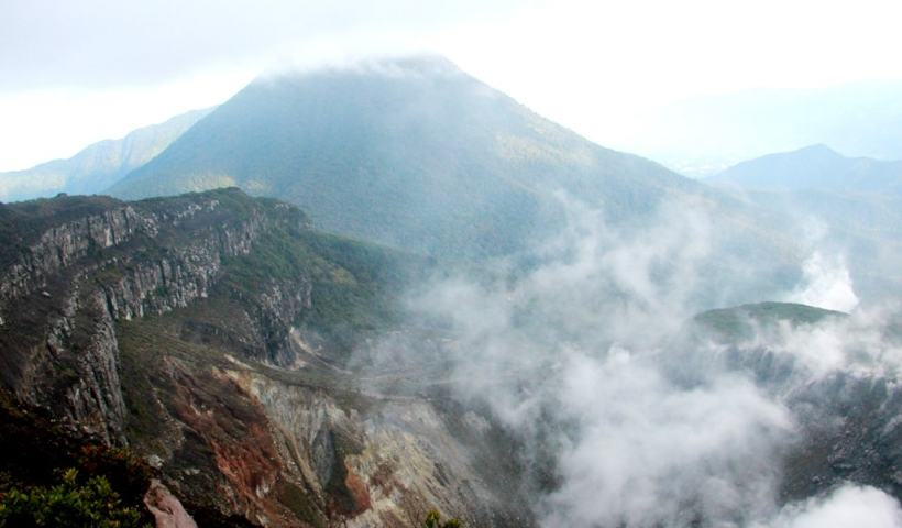 Pemandangan dari Puncak Gunung Gede