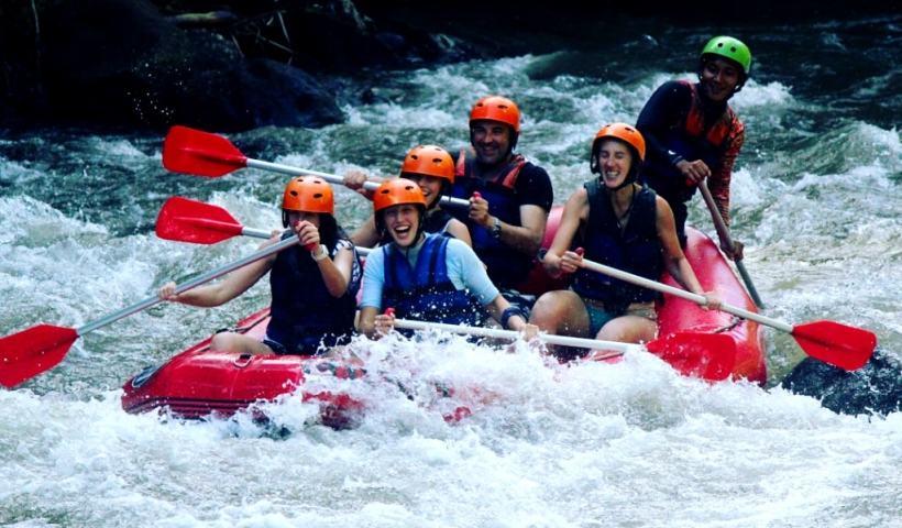Rafting di Sungai Ayung, Bali