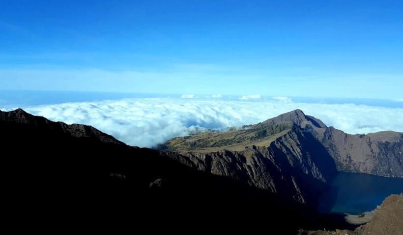 Pemandangan Gunung Rinjani, Lombok