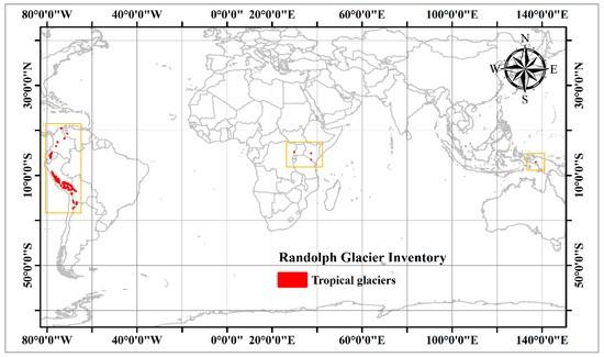 Wilayah Sebaran Glacier Tropis di Dunia