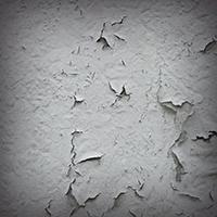 外壁の剥がれの写真